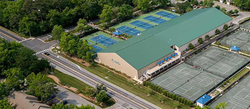 Nike Tennis Camps Sea Colony Facility
