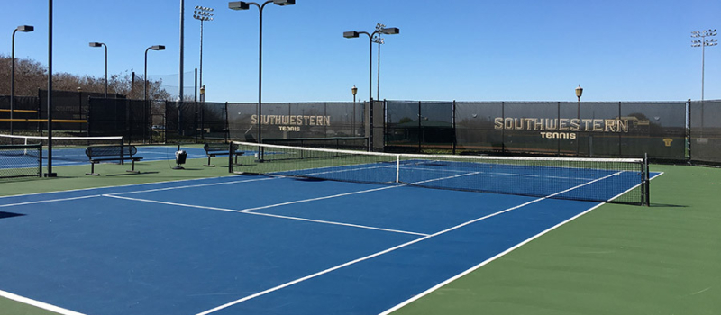 Nike Tennis Camps Southwestern University Courts