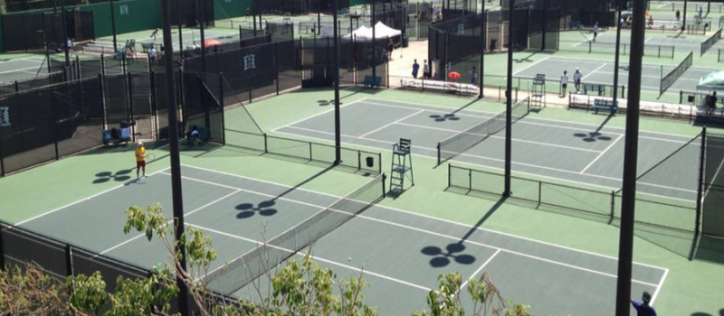 Nike Tennis Camps University Of Hawaii Courts