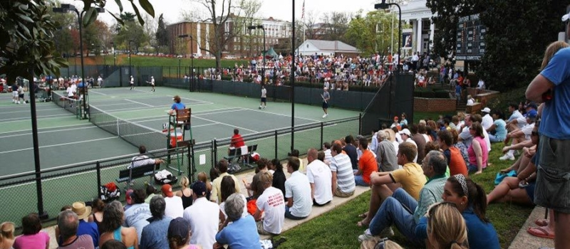 Nike Tennis Camps University Of Virginia Courts