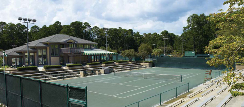 The Landings Club Nike Tennis Camp Courts