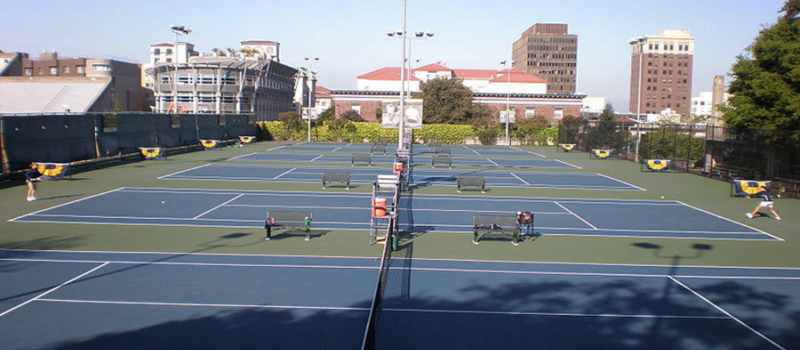 Cal Nike Tennis Camp Courts
