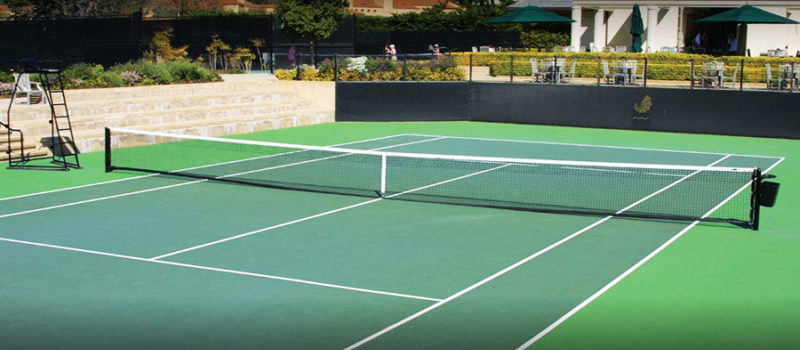 Nike Tennis Camps Pebble Beach Courts