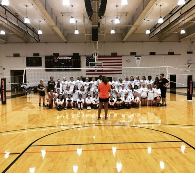 College Coaches Camp: Nike Volleyball Camp At Lewis And Clark College