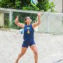 Cal Beach Volleyball Camps Serving