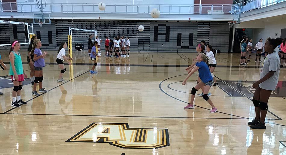 9a158347 Nike Volleyball Camp at Adelphi University