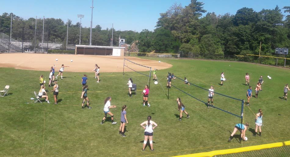 Nike Volleyball Camp at Endicott College