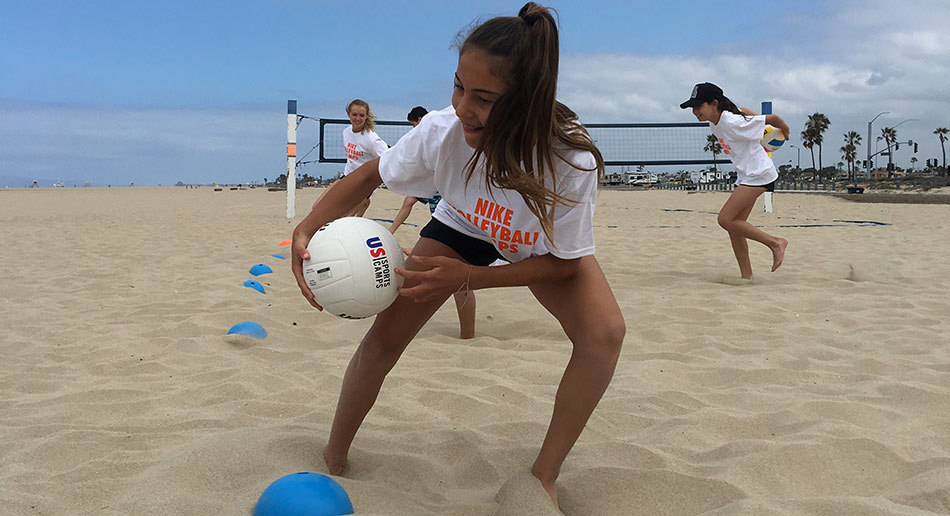 Gallery Beach Warm Up Nike Volleyball