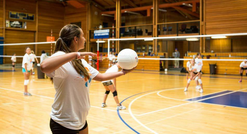 Nike Volleyball Camps Serving