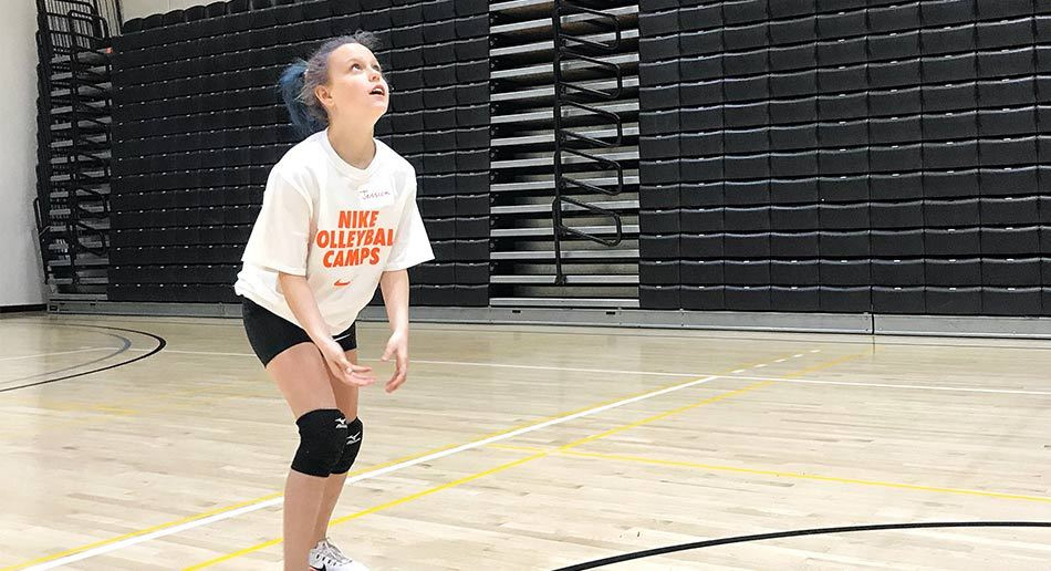 eaaf6fd34 ... Lewis And Clark Girl Recieiving Volleyball ...