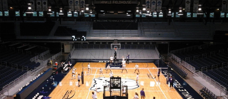 Nike Volleyball Camps Facility Butler