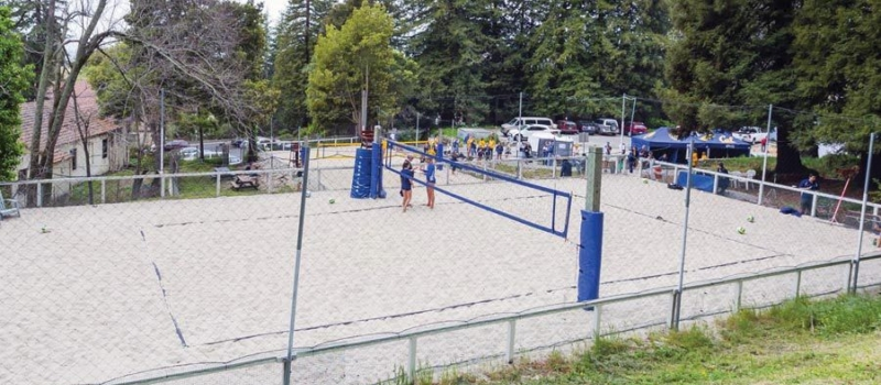 Cal Beach Volleyball Camps Facility