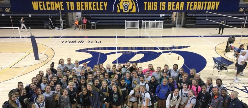 Cal Volleyball Camps Facility