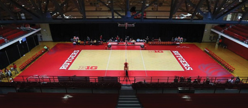 Nike Volleyball Camps Facility Rutgers