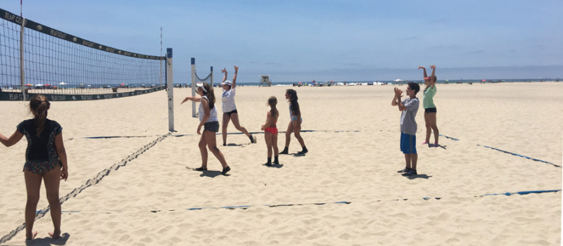 Nike Volleyball Camps Facility Huntington Beach