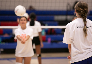Nike Volleyball Adds Camp To Texas