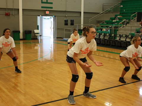 Nike Volleyball Camp How To Stay Healthy In The Off Season
