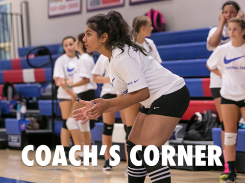 Nike Volleyball Camp Service Receiving Tip