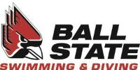 Ball State University Swimming Logo