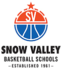 Snow Valley Basketball Schools Logo 2017 Small