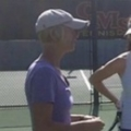 Nike Tennis Camp Amherst College Coach Bagwell