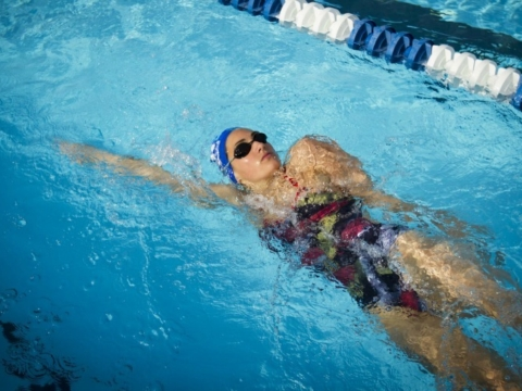 Peak Performance Swim Camp Backstroke Freestyle Pull