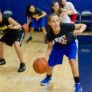 Nbc Basketball Camps Girls Dribble Work